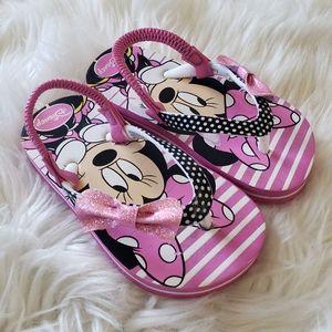 B2G1 Girl's Disney Minnie Mouse Flip Flop Sandals